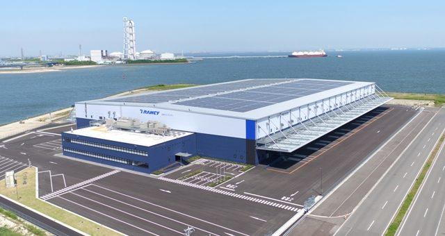 霞北埠頭流通センター新築工事(鹿島・大林・中日本建設共同企業体)